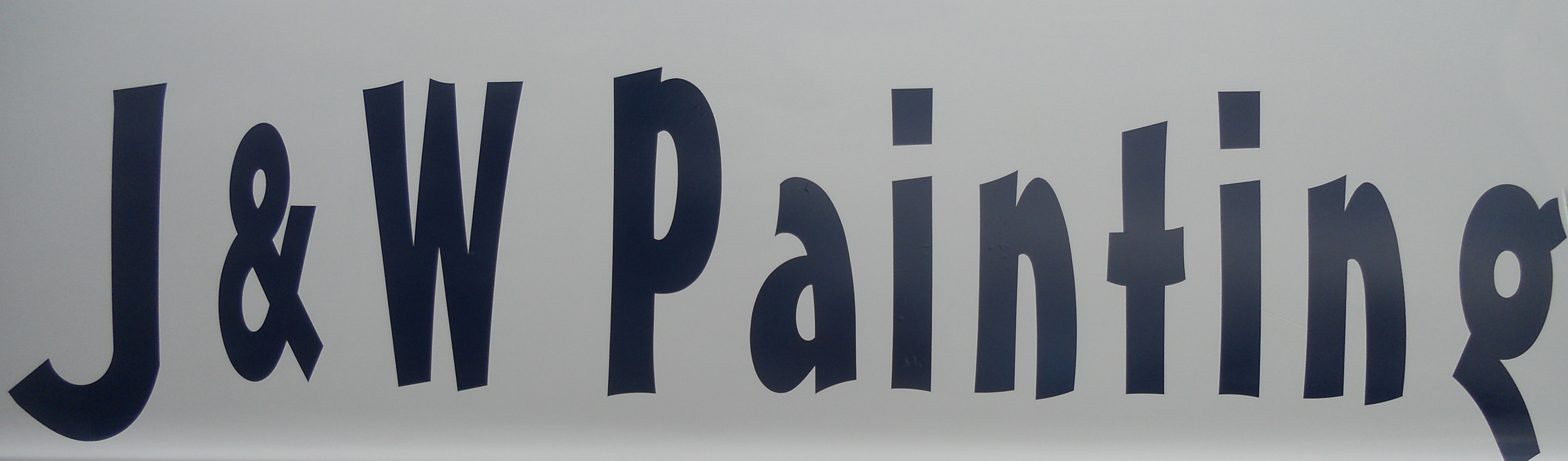 Business Logo for J & W Painting